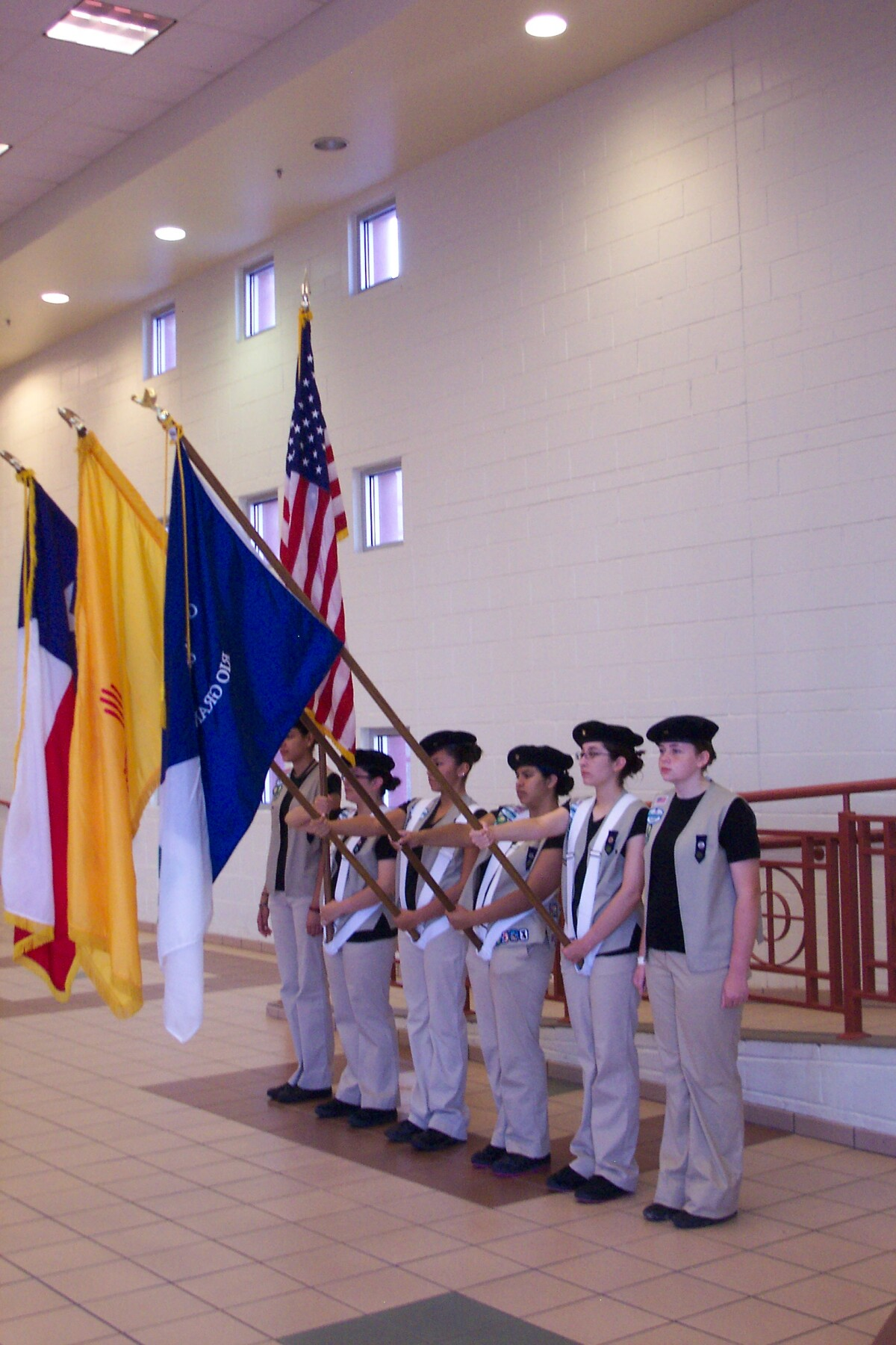 Girl Scout Color Guard - DIGIE