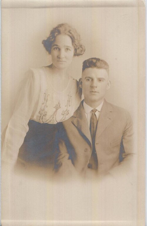 Ruth Cleveland Hellums and Homer Dyche - El Paso, Texas - DIGIE