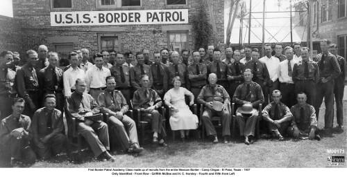 Border Patrol - Camp Chigas- El Paso, Texas 1937 - DIGIE