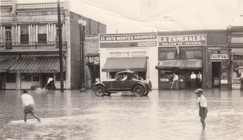 Flooded S. El Paso Street   1920u0027s   El Paso, Texas